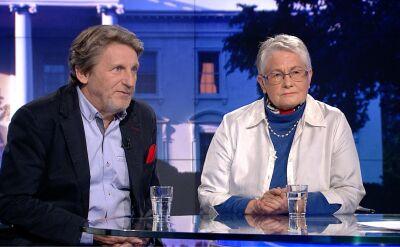Janas i Labuda o protestach wyborczych PiS i sytuacji w Senacie komentują