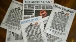 Protest australijskiej prasy