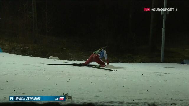 Szwajnos wywrócił się podczas sprintu w Novym Meście
