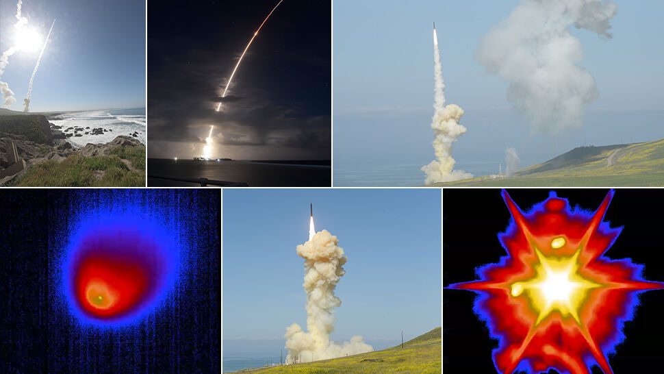 Pocisk międzykontynentalny trafiony dwiema rakietami. Pionierski test wojska USA