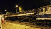 Policja o zderzeniu pociągów: nie ma ofiar śmiertelnych