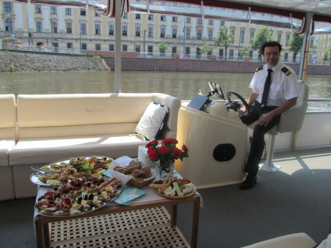 Kapitan czeka na gości