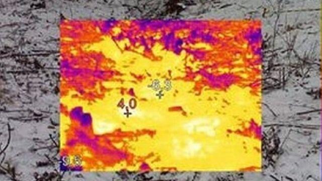 Anomalie termiczne w miejscu ukrycia
