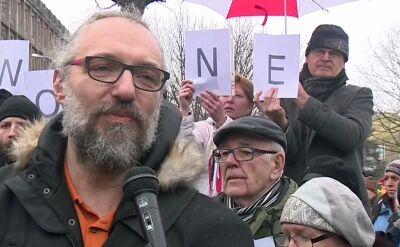 Manifestacje w kilkunastu miastach. KOD protestuje w sprawie mediów publicznych
