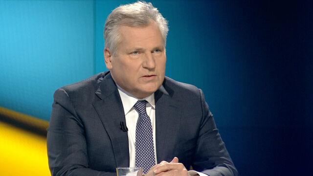 """Aleksander Kwaśniewski był gościem """"Faktów po Faktach"""""""