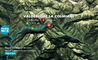 Najważniejsze wydarzenia 7. etapu Paryż - Nicea