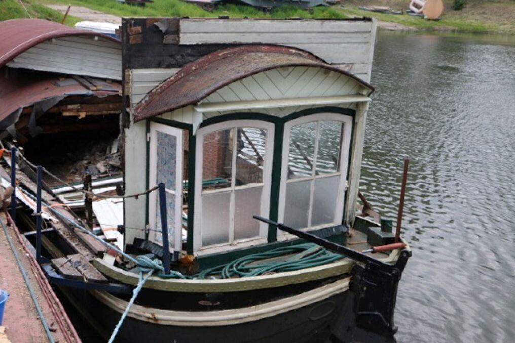 Kapitan chce zamieszkać na stuletniej holenderskiej barce