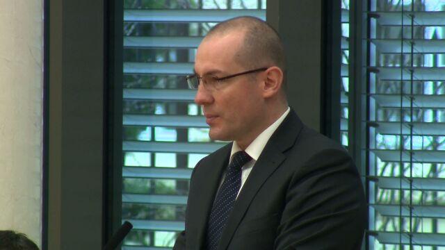 Stanowisko rządu przedstawiłRobert Brochocki