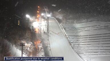 Sapporo znika pod śniegiem. Kwalifikacje przesunięte