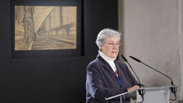 Przemówienie ocalałej z Auschwitz Janiny Iwańskiej