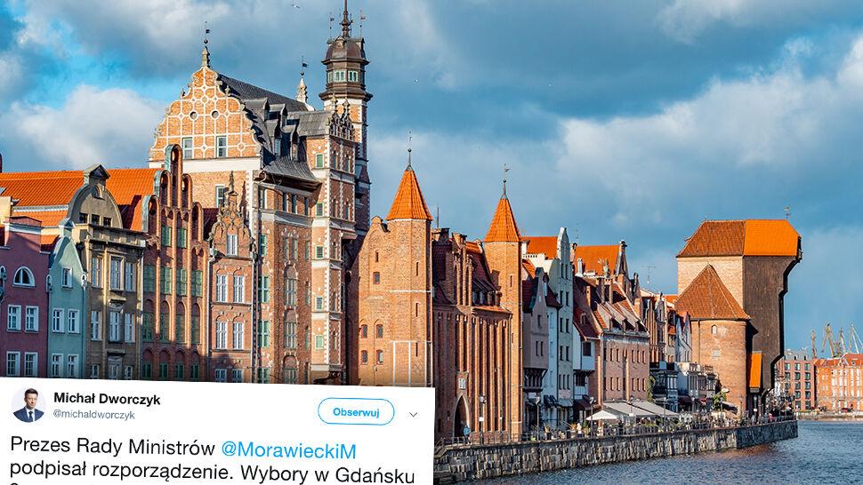 Premier wyznaczył termin przedterminowych wyborów w Gdańsku
