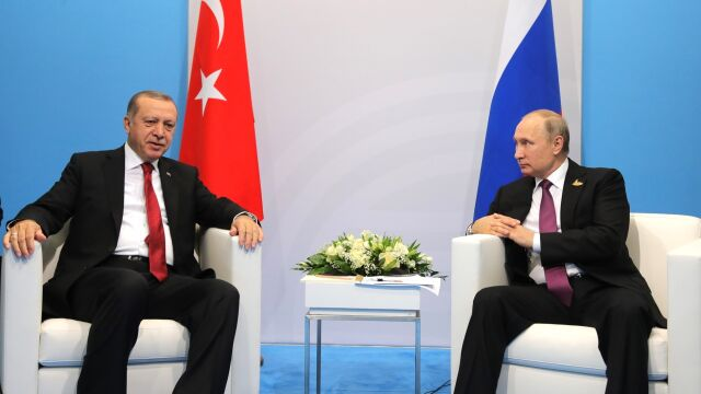 """Moskwa chce opracowania """"formatu możliwej wizyty"""" Erdogana na Krymie"""