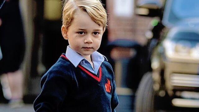 """""""Nie ma zamieszania wokół jego pochodzenia"""". Książę George ma w szkole nowe przezwisko"""