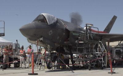 Test działka F-35