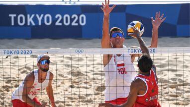 Rywale bez szans. Polscy siatkarze plażowi przywitali się z Tokio zwycięstwem