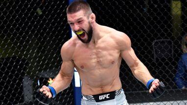Zwycięstwo w 65 sekund, premia i śmiałe plany Gamrota w UFC