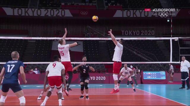 Tokio. Siatkówka mężczyzn. Kolejny przegrany set Polaków w meczu z Iranem