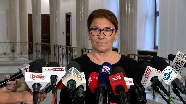 Beata Mazurek: posiedzenie klubu PiS nie ma związku z rejestracją nowej partii