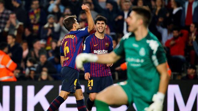 Pewny awans Barcelony. Rezerwowi rozbili trzecioligowca