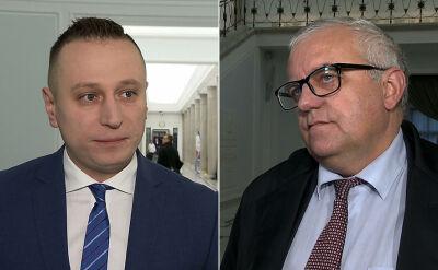 Brejza i Lipiński o zatrzymaniu Andrzeja J. i jego współpracowników