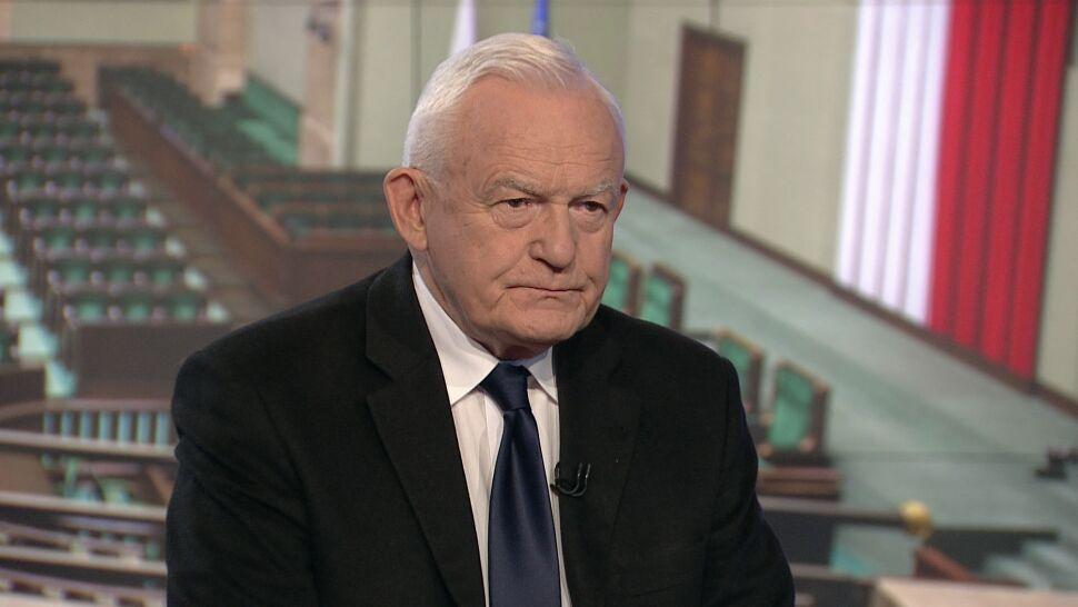 Miller: w PiS mają świadomość, że misja premiera Morawieckiego się nie udała