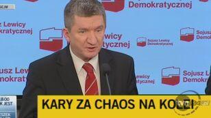 Posłowie SLD zbierają podpisy pod wnioskiem o wotum nieufności dla ministra Grabarczyka
