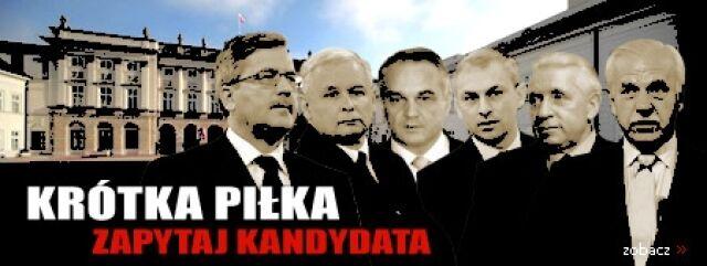 """Krótka piłka – Zapytaj kandydata"""