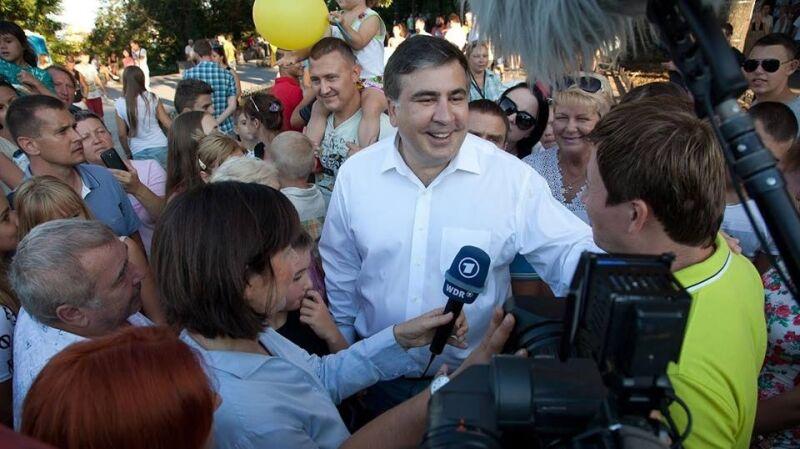 Saakaszwili odniósł sukcesy jako prezydent Gruzji. Chce je powtórzyć na Ukrainie