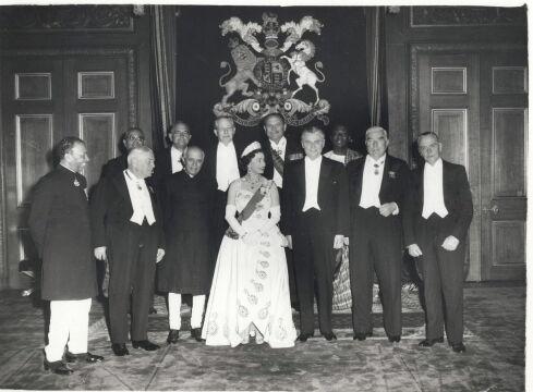 Z liderami państw Commonwealth, 1960
