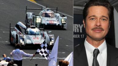 Doba ścigania, słynny starter. Brad Pitt rozpocznie wyścig w Le Mans