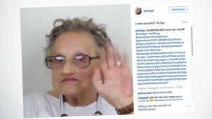 Wnuczka - makijażystka funduje babci niesamowitą metamorfozę