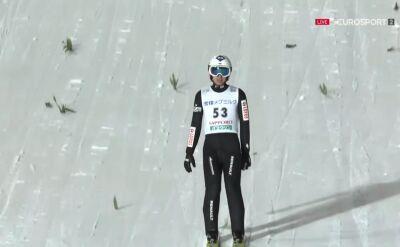 Skok Stocha z kwalifikacji w Sapporo