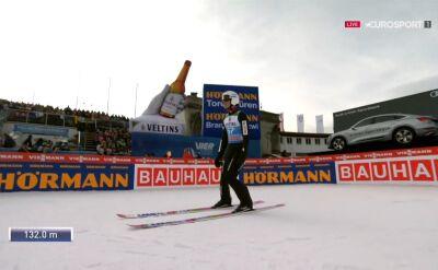 Skok Piotra Żyły z kwalifikacji w Garmisch-Partenkirchen
