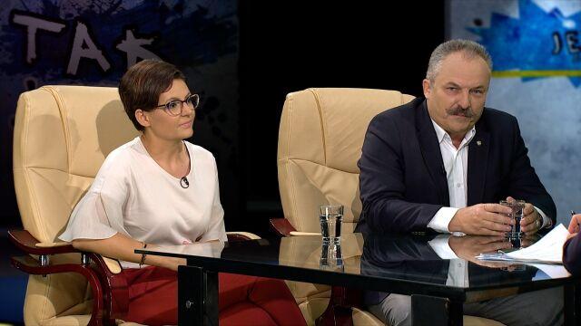 Justyna Glusman i Marek Jakubiak w Tak Jest