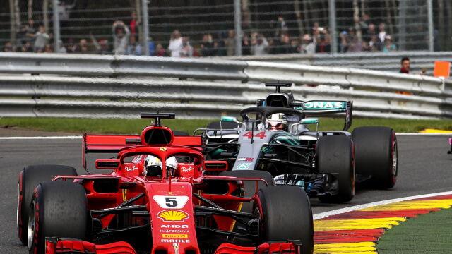 Vettel goni obrońcę tytułu