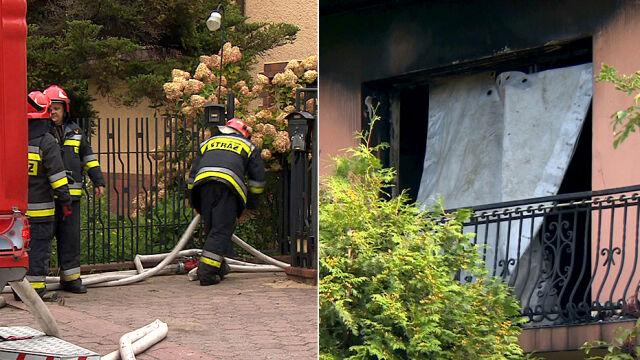 """Pożar, w domu skrępowane ciało kobiety. """"Zarzut usłyszał sąsiad, 16-letni chłopiec"""""""