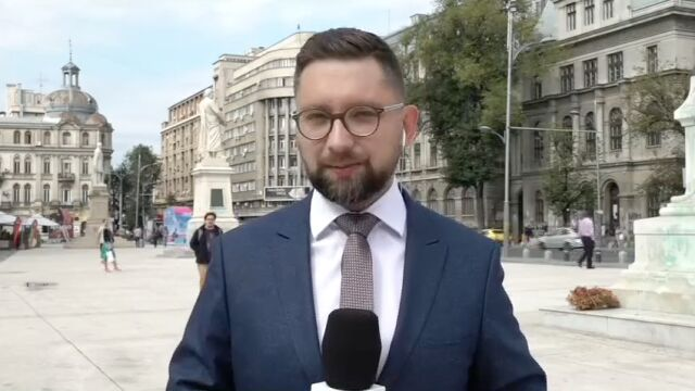 Relacja korespondenta TVN24 International z Bukaresztu