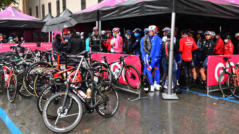 Skrócono najdłuższy etap Giro d'Italia. Organizatorzy przestraszyli się gróźb