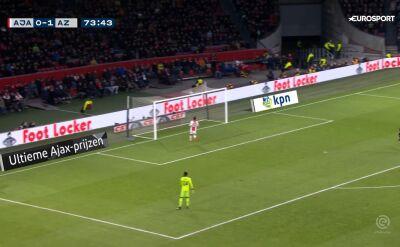 Ajax przegrał z AZ Alkmaar w meczu na szczycie Eredivisie