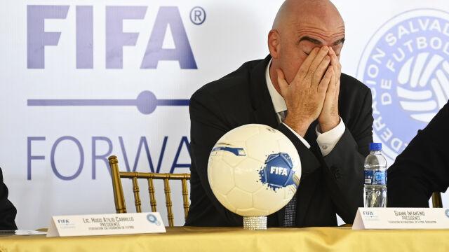 Koronawirus dotarł do FIFA. Zakażony prezydent z objawami