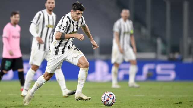 """""""Al-VAR-NO Morata"""". Dziennikarze współczują zawodnikowi Juventusu"""