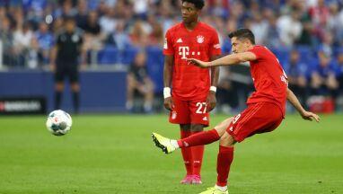 Lewandowski pazerny na gole. Został po treningu, by szlifować rzuty wolne