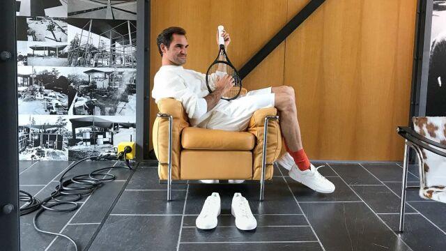 Linia obuwia od Federera. Sam w tenisa w nich nie pogra