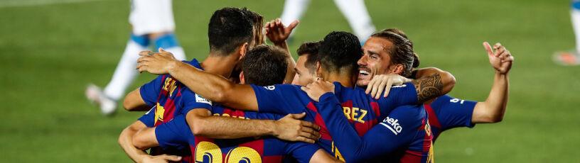 Barcelona wyrzuciła z ligi lokalnego rywala. Nadziei na mistrzostwo nie straciła
