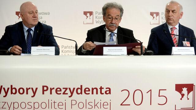 Oficjalne wyniki wyborów. Cała konferencja PKW