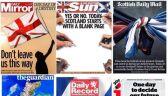 Brytyjskie gazety w dniu referendum