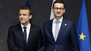 Morawiecki: głosy przywódców kwestionujące artykuł 5. zagrażają Unii Europejskiej i NATO