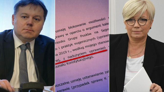 Bunt w Trybunale: sędzia dubler chce pilnej dymisji prezes Przyłębskiej