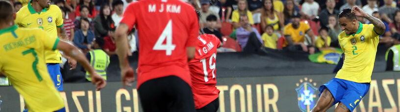 Piękne gole Brazylii. Pewny triumf nad Koreą w Abu Zabi