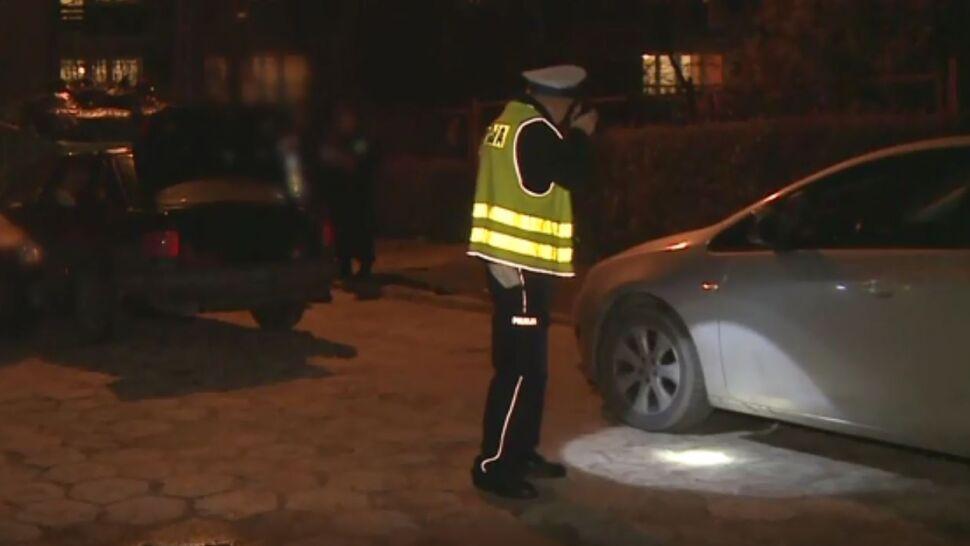 Nie chciał się zatrzymać, potrącił policjanta. Padł strzał